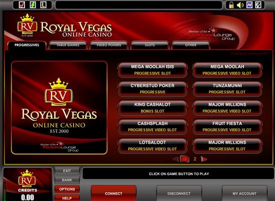 Royal Vegas No Deposit Bonus